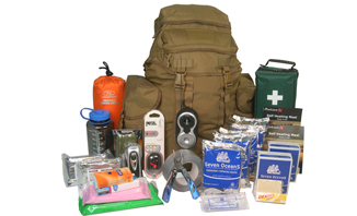 Deluxe Two-Person 72 hour Emergency GoBag™ | download FREE resources, access great Kit | be better prepared for emergencies - EVAQ8.co.uk Emergency Preparedness